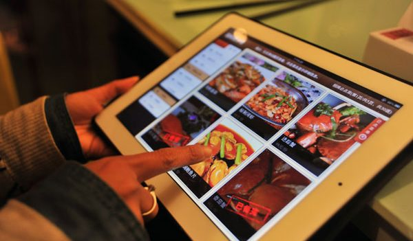 Digital Menu - Web based application