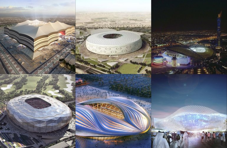 FIFA worldcup Stadiums in Qatar