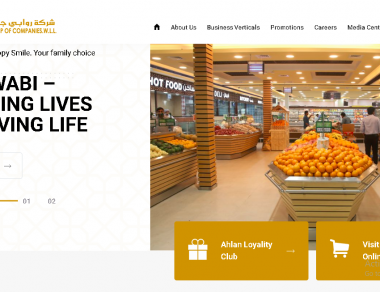 Website Design - Alrawabi Group