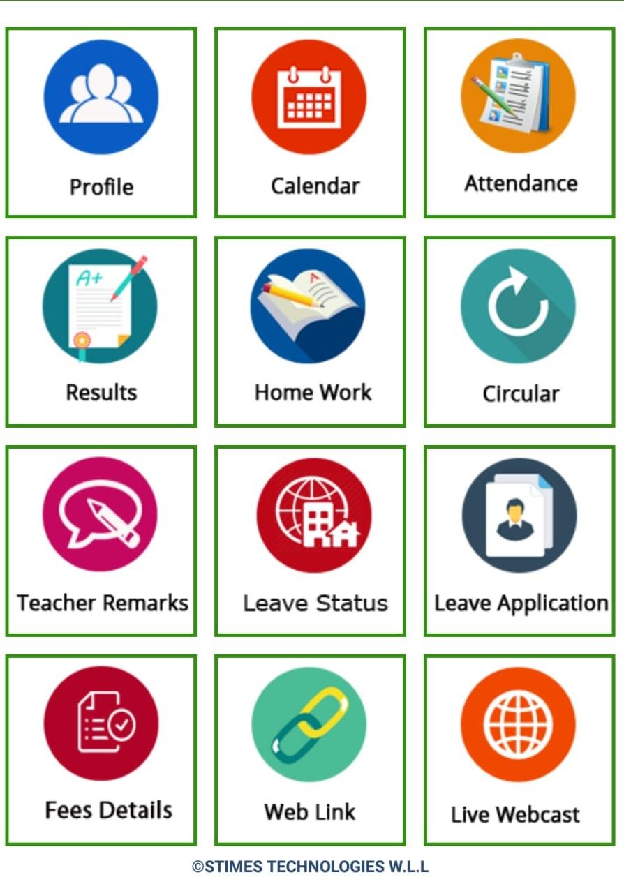 Parent module in school management software Qatar
