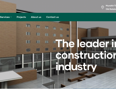 Website Development – Buildra International Qatar